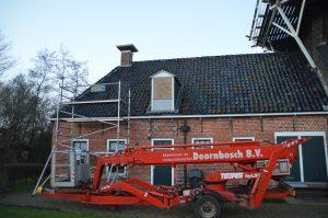 geen raam in dakkapel Graanmuseum Woldzigt Roderwolde
