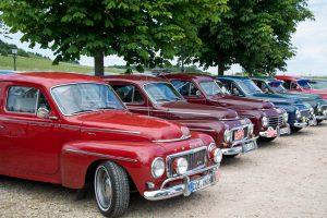 Buckel Volvo treffen bij Woldzigt - Roderwolde