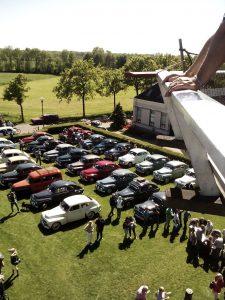 Buckel Volvo Treffen voor Woldzigt Roderwolde