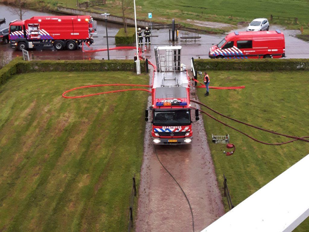 brandweer voor molen Woldzigt - Roderwolde