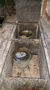 Olieproductie in Olie- en Korenmolen Woldzigt Roderwolde