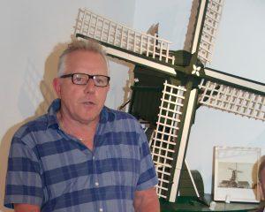 Piet Boelen, scheidend voorzitter Stichting Olie- en Korenmolen Woldzigt Roderwolde