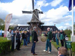 start oliemarathon Olie- en Korenmolen Woldzigt Roderwolde door Erwin van Liempd van Het Drentse Landschap
